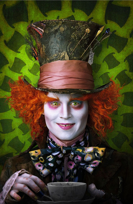 JD as the Mad Hatter